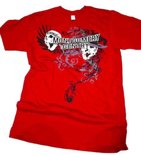 Red T-shirt  http://montgomerygentry.com/store