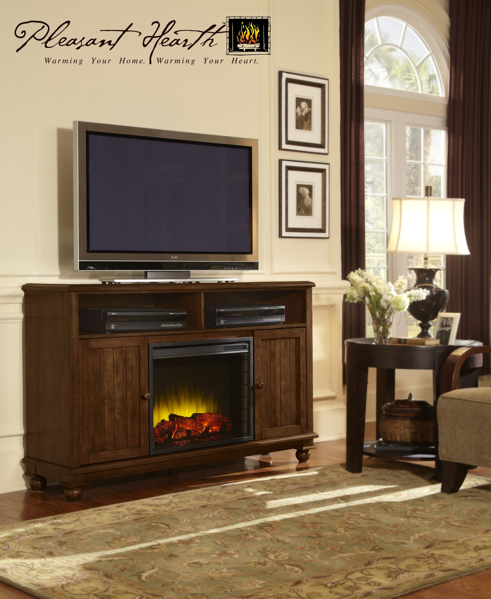 Ghp Group Fireplaces Love the fireplace and TV look By The Pleasant