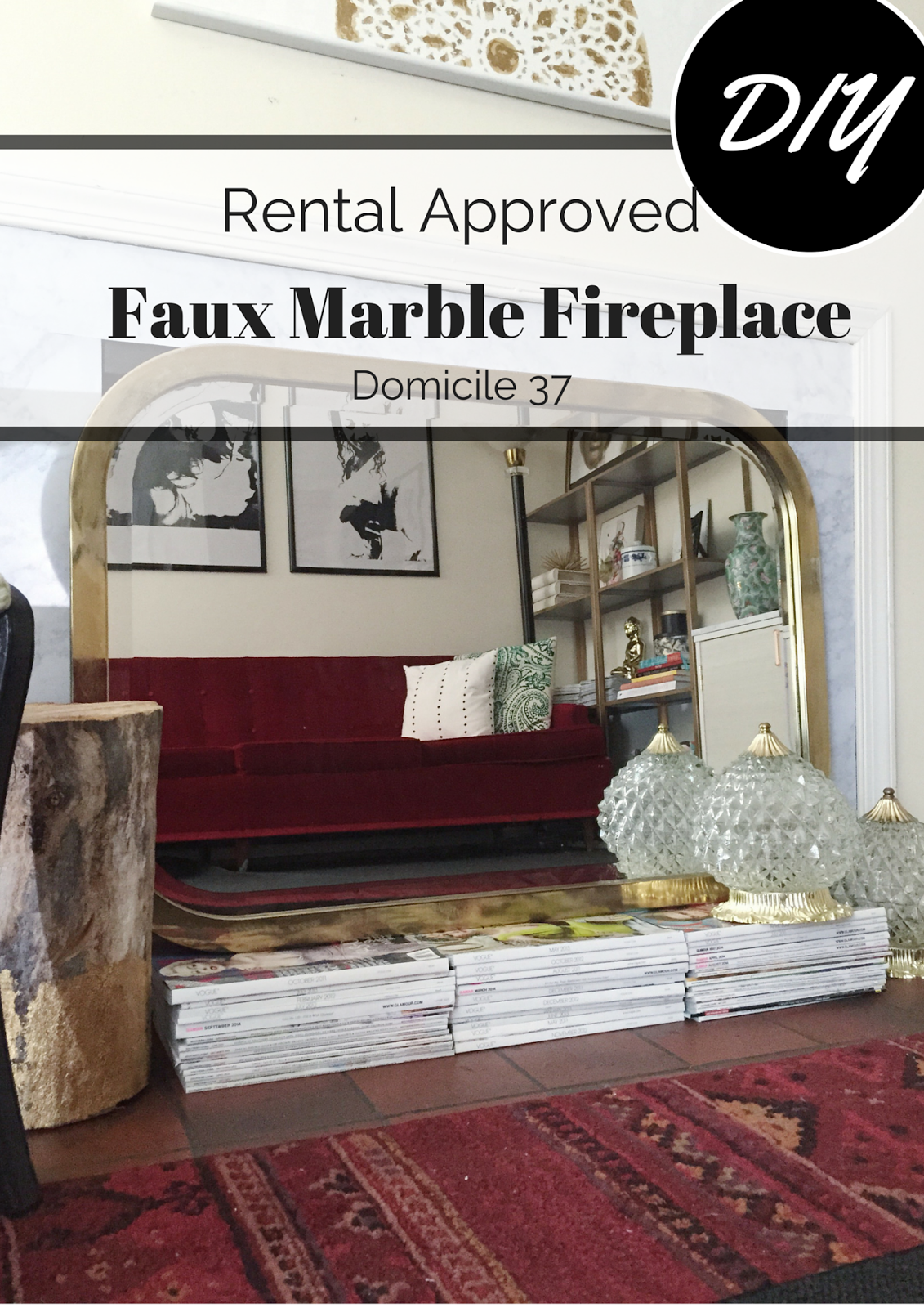 Faux marble fireplace marbles contact paper and diy ideas