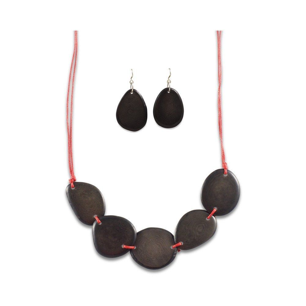 Nella Tagua Necklace Set