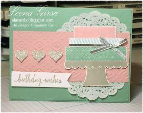 A La Cards: Build a {pretty} Birthday