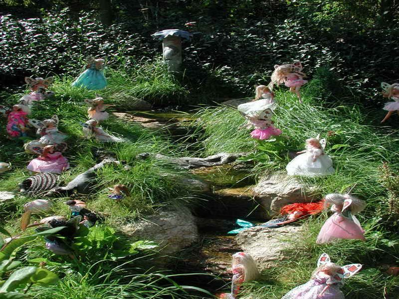 Image of Miniature Fairy Garden Ideas Landscaping fairy gardens