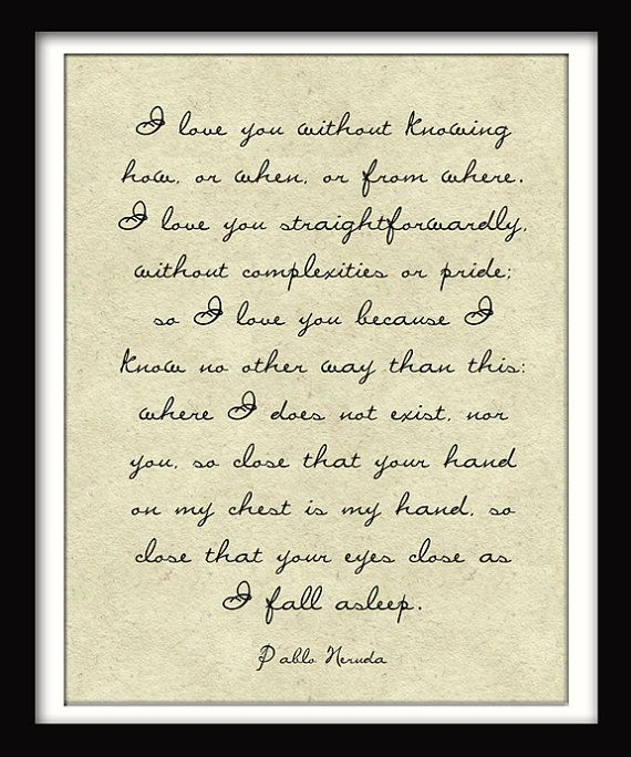 This Sonnet Was Used On Our Wedding Day. Favorite Ever