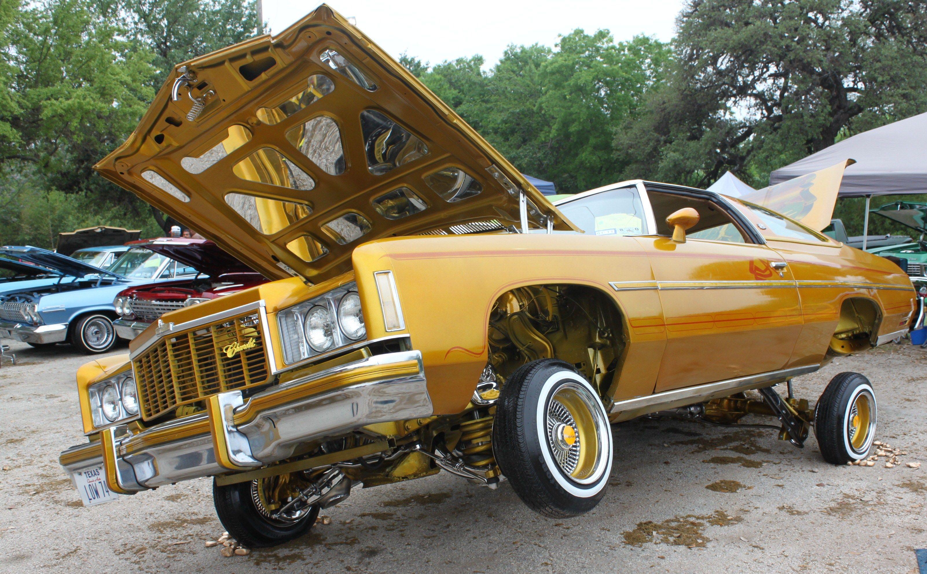 Gold Lowrider Hydraulic Cars Lowriders Lowrider Cars