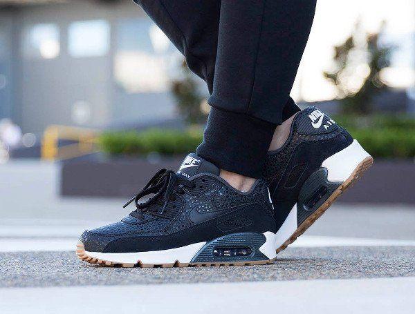 Nike Air Max 90 PRM Black Safari Gum