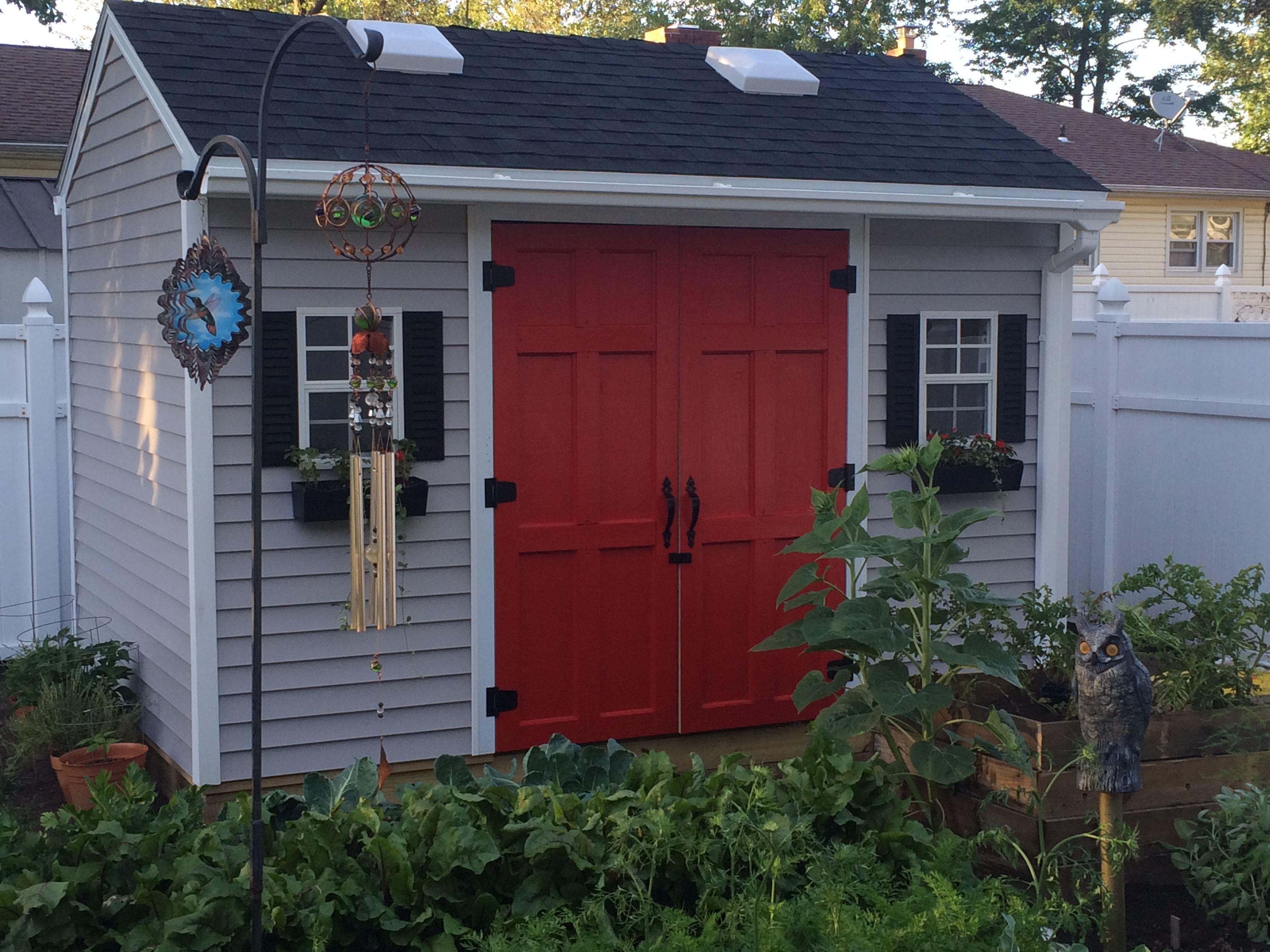 Part 2/3 of Backyard Improvements - DIY Shed Build # ...