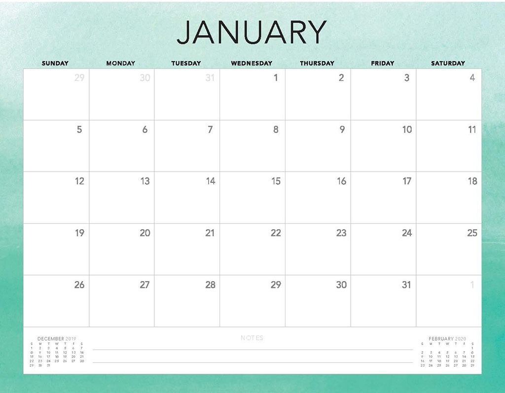 Free 2020 Printable Calendars 51 Designs To Choose From Calendar Printables Mini Calendars Calendar