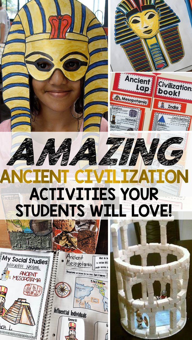 Ancient Civilization Activities Your Students Will Love