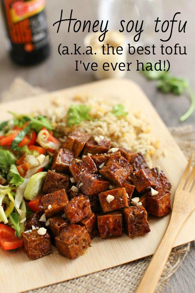 Honey Soy Tofu Amuse Your Bouche Best Tofu Recipes Healthy Recipes Vegetarian Recipes