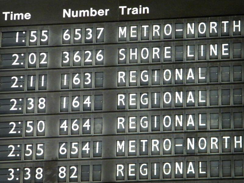 Train Central Schedule Station Grand