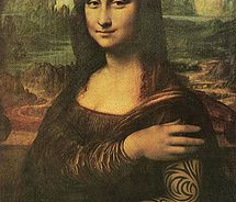Mens Silk Pocket Square - Mona Lisa Da Vinci by VIDA VIDA 0eGqjaDpUk