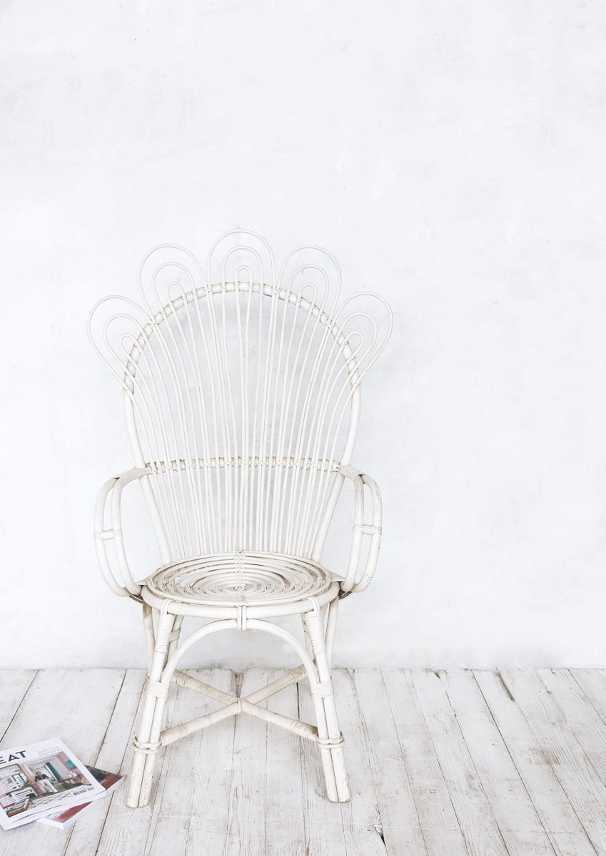 Muebles Retro Online Rattan Fan Chair Super Marché My Vintage Online Shop