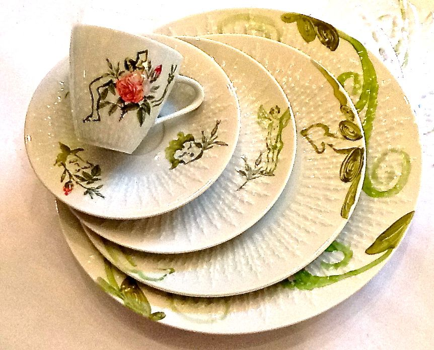 pimping up old porcelain