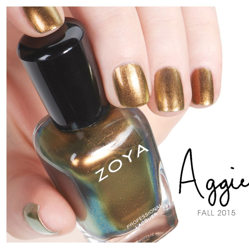 Zoya Aggie from the Flair Collection | Fall Nail Polish | Pinterest ...