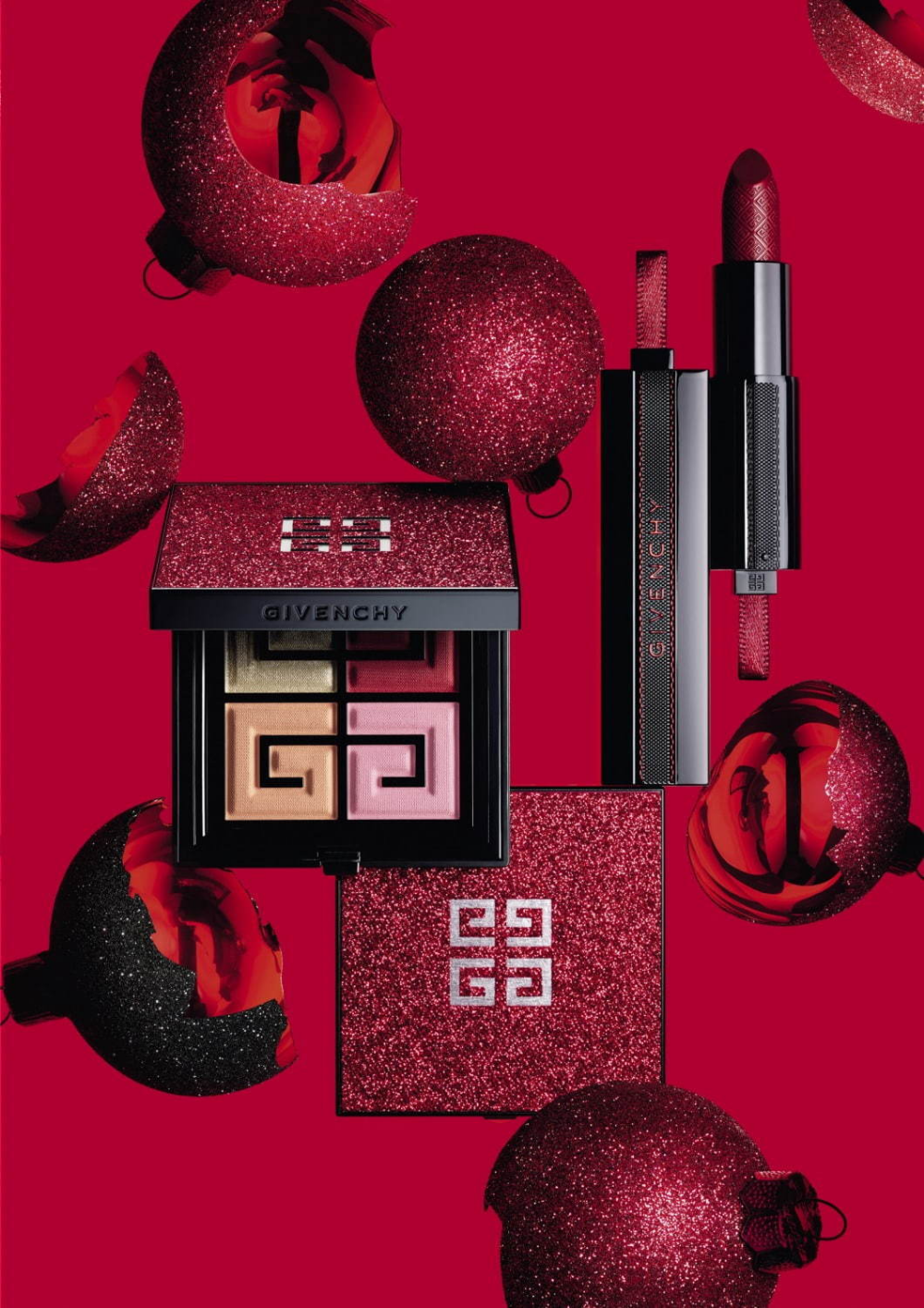 Givenchy Christmas 2020 Givenchy Christmas Thrills 2019 in 2020 | Makeup collection