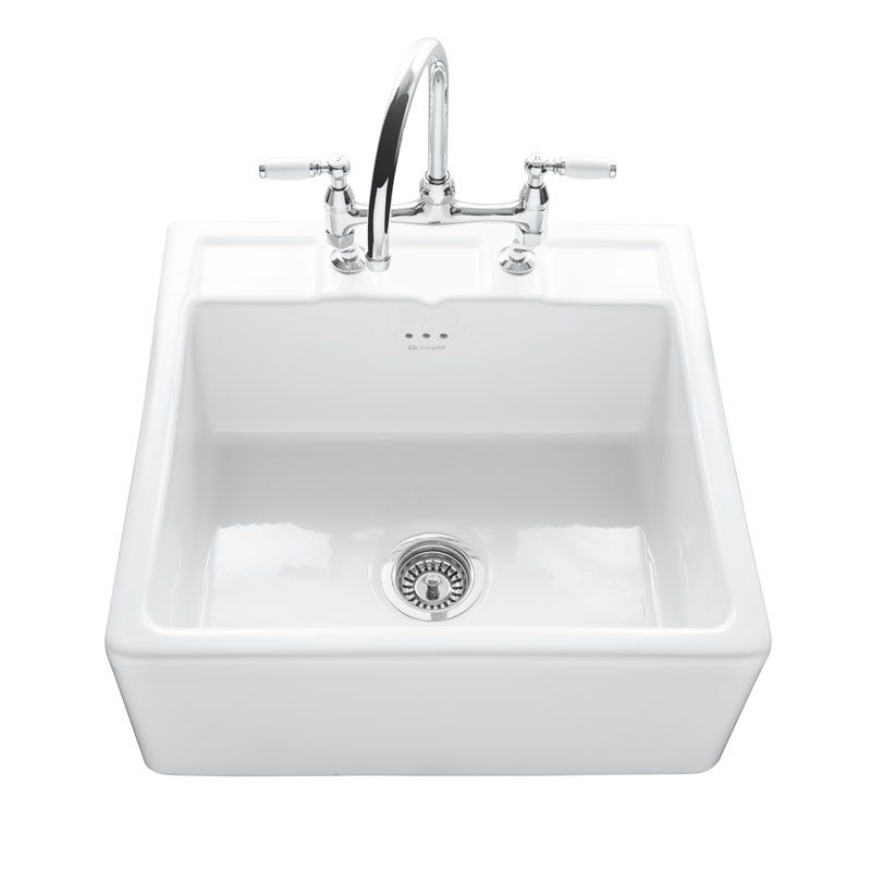 Caple Butler 600 Kitchen Sink With Tap Ledge Sinks Taps