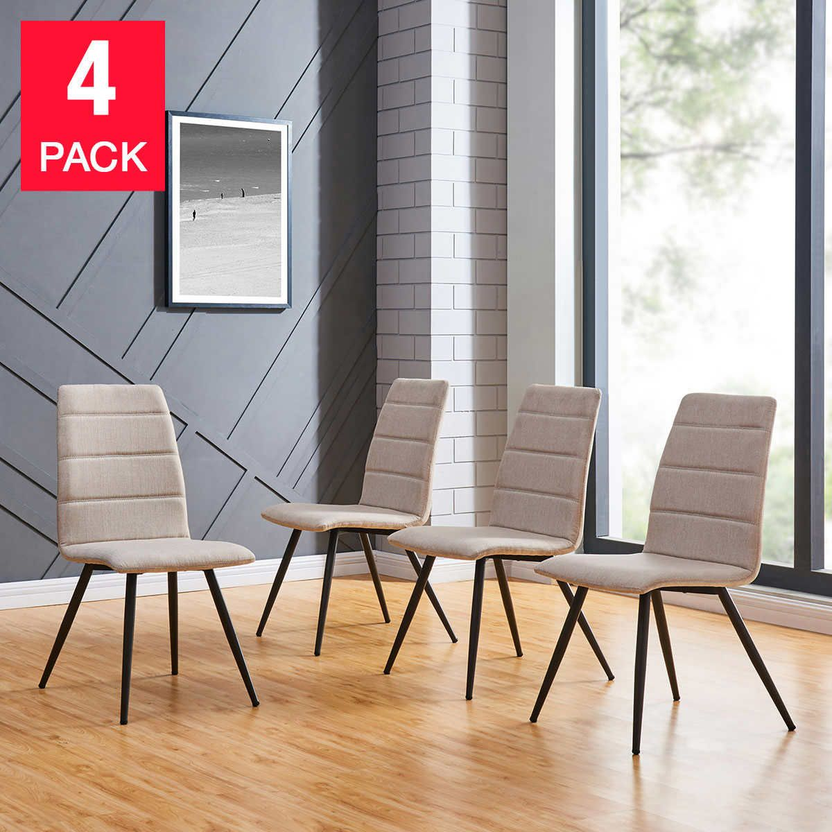 Marcello Dining Chair 4 Pack Handy Living Dining Chairs Chair