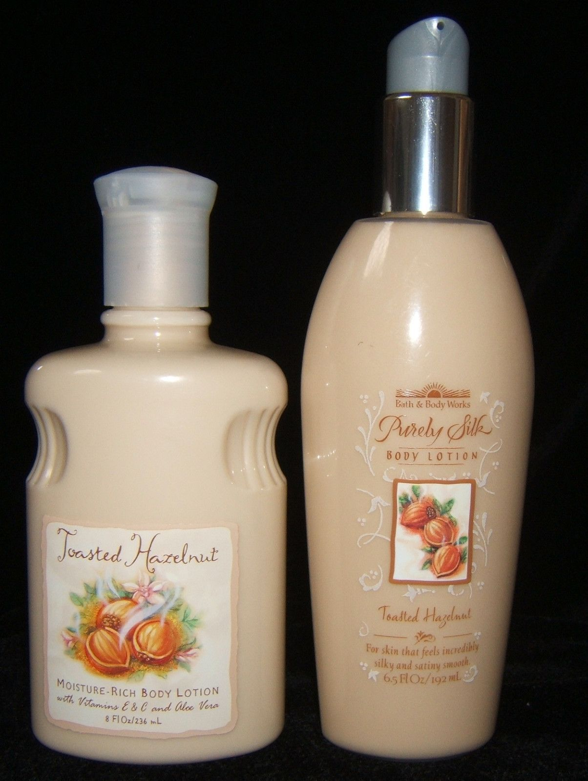 Bath body works toasted hazelnut lotions vintage bath for Where are bath and body works products made