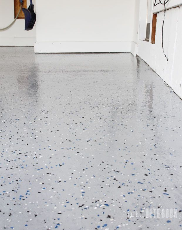 Diy Garage Floor Tutorial Rocksolid Polycuramine Diy Garage