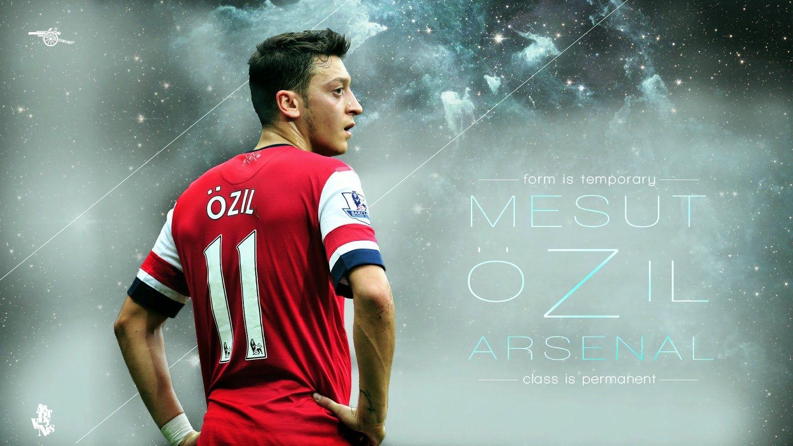 Mesut Ozil Arsenal Wallpaper Art By Vanis