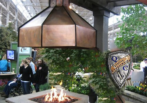 Fire Pit Hood Chimney ~ Copper range hoods barn with carriage house designs