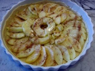 Torta facil de maca via Senhor Prendado blog.