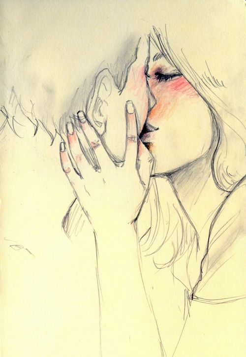 Couple Drawing And Kiss Inspiration Pinterest Dibujo Amor Y