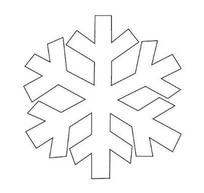 Kar Taneleri Boyama Sayfası Ve çizgi çalışması Ilkokul Görsel