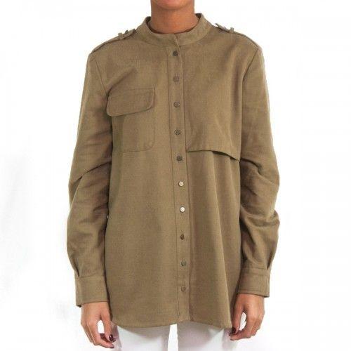 LENTEJITA - Camisa Lucca - Camisa estilo militar de algodón 100%. La calidad de su composición la convierte en una prenda cómoda y muy abrigada...  http://www.eustyle.es/es/lentejita/262-camisa-lucca.html