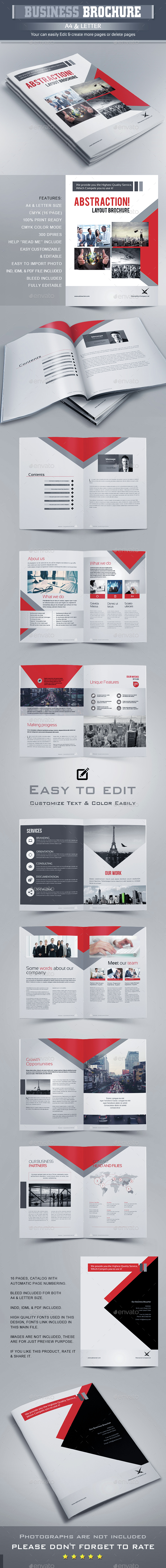 Brochure Template InDesign INDD | Diseño Editorial || Editorial ...
