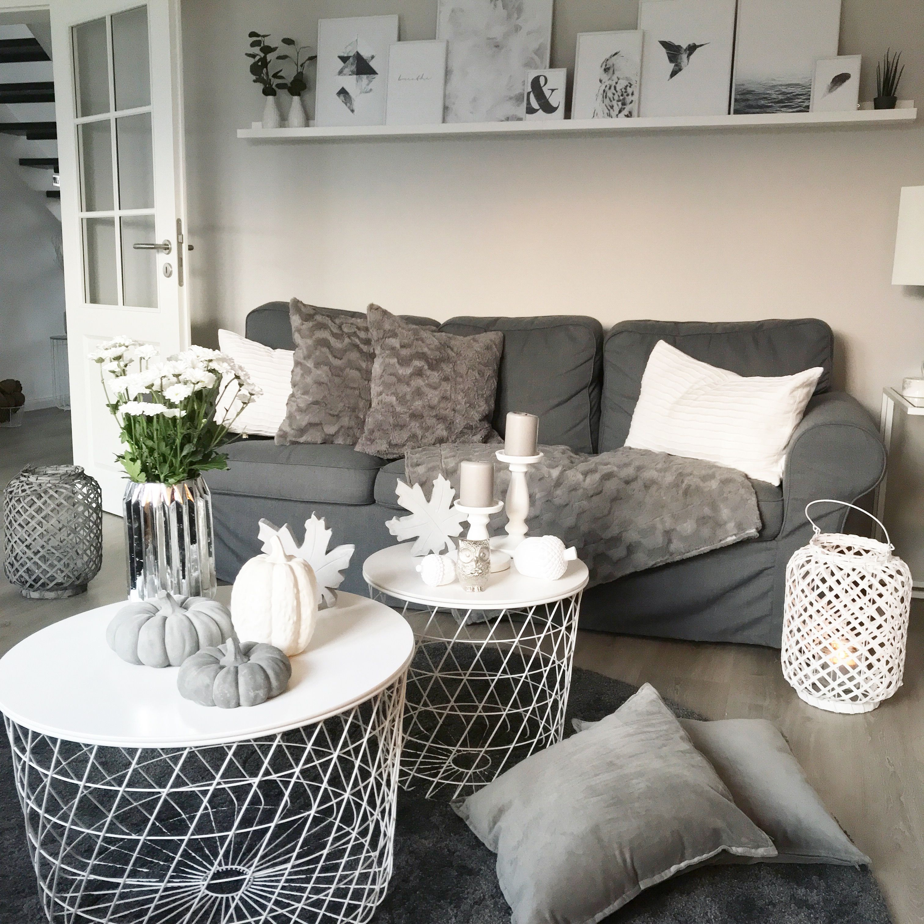 Instagram: wohn.emotion Landhaus Wohnzimmer livingroom ...