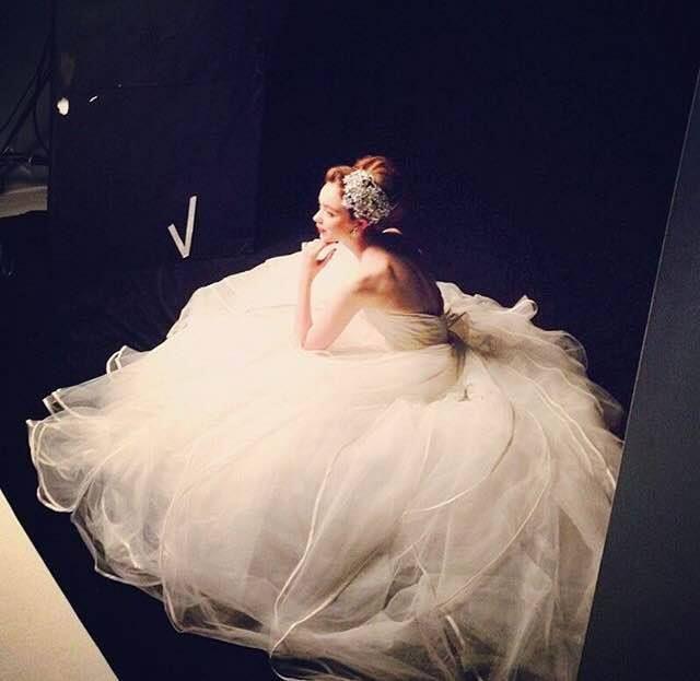 Austin Scarlett Wedding Gowns: Dreamy Austin Scarlett Gown. 11-2015