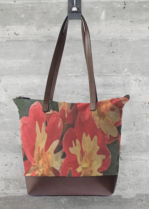 Statement Bag - coral splash bag by VIDA VIDA 8FnYmRwXx3