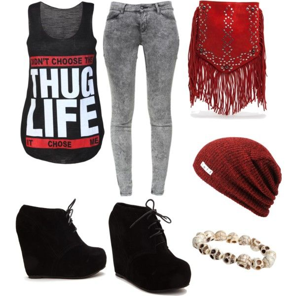 """""""""""Thug Life"""" Outfit"""" by allyrose17 on Polyvore 