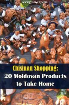 Is Chisinau, Moldova your next travel destination? This insider's guide offers you 20 ideas on what products that uniquely local to bring home with you. Happy shopping!