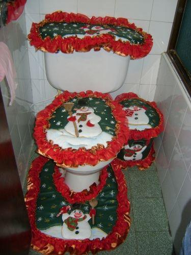 juegos de baño en fieltro navideños - Buscar con Google ...