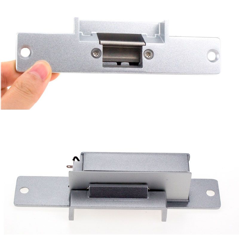12v Dc Fail Safe Nc Narrow Type Door Electric Strike Lock For Access Control Power Locks Embedded Installation Access Control Installation Access