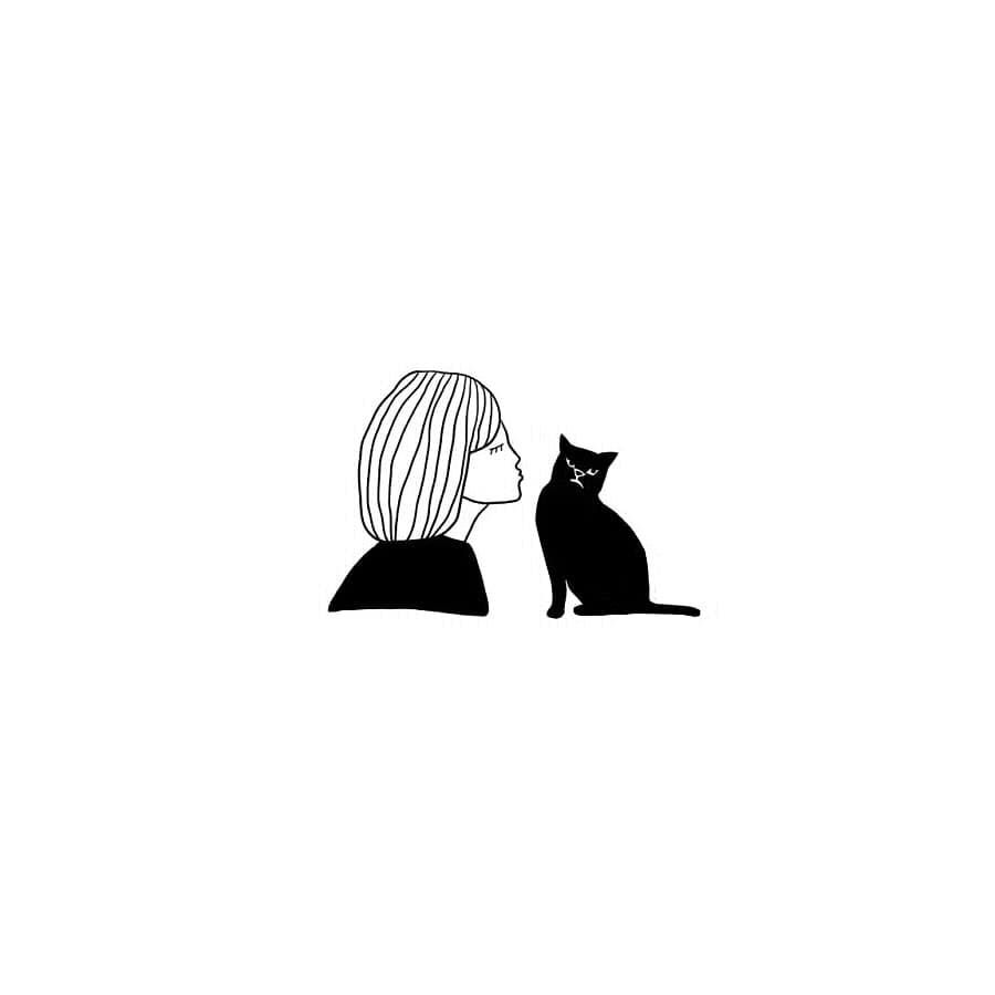 Let Me Love You Cat Tattoo Cat Tattoo Small Black Cat Tattoos