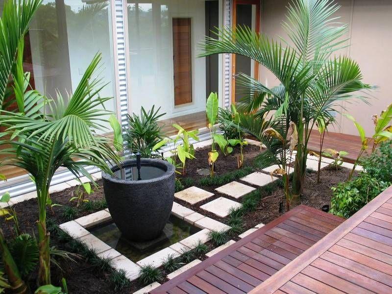 Aménagement petit jardin dans larrière cour–idées modernes ...