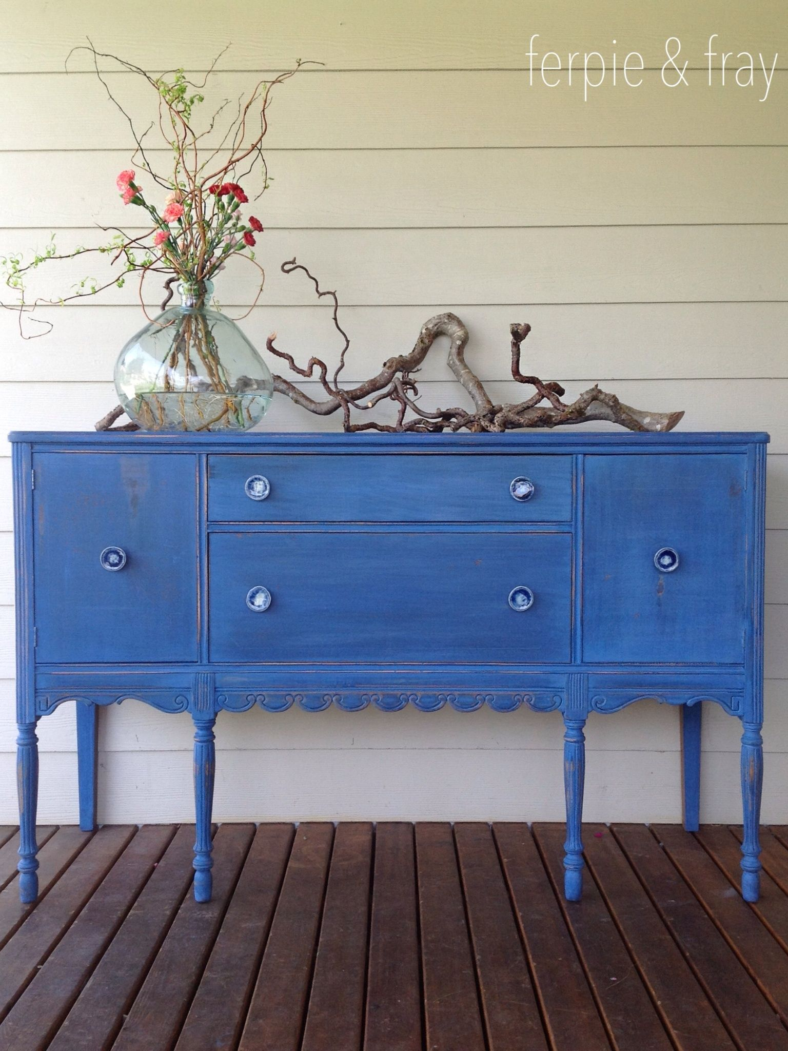 Dresser painted by Ferpie and Fray in Old Fashioned Milk Paint ...