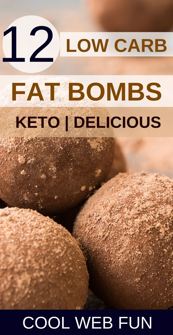 Easy Keto Fat Bombs: 12 No-Bake Keto Fat Bombs to reach Ketosis