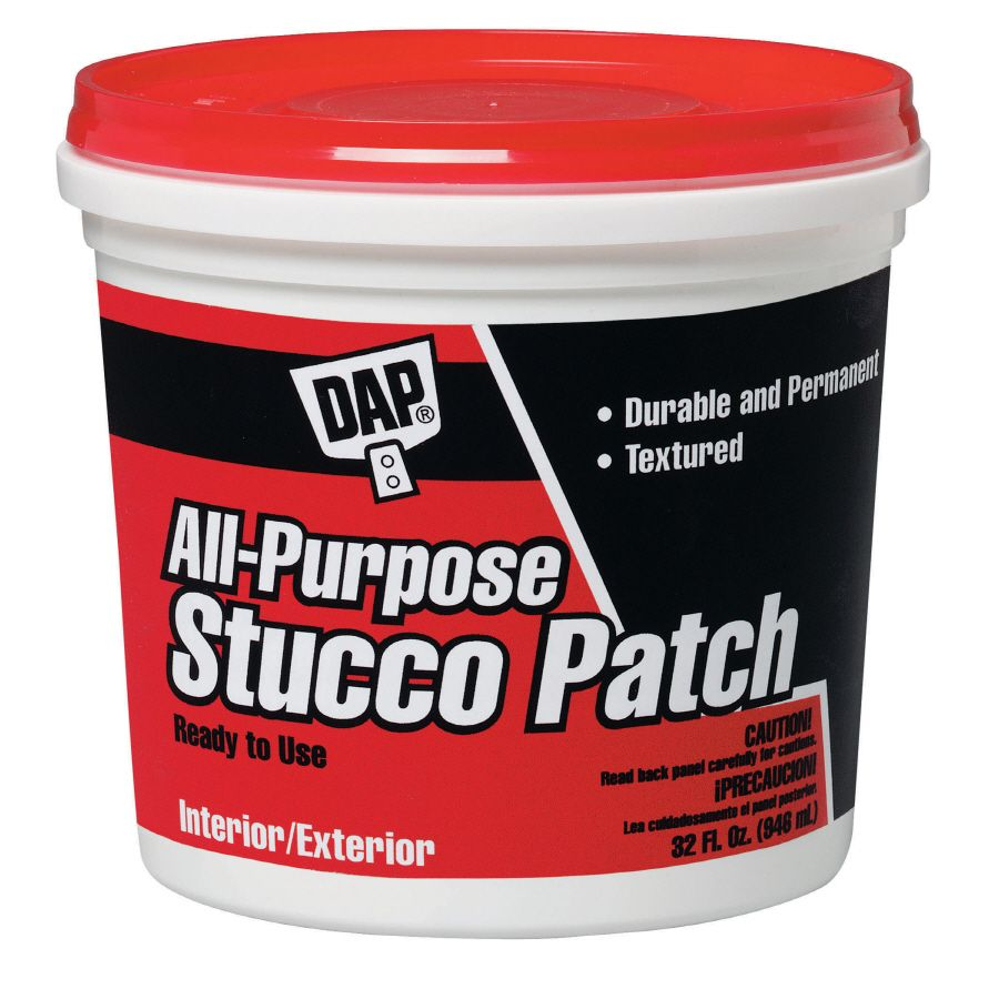 Dap 32 Oz White Stucco Patch Lowes Com Stucco Patch Wall Board Drywall Joint Compound