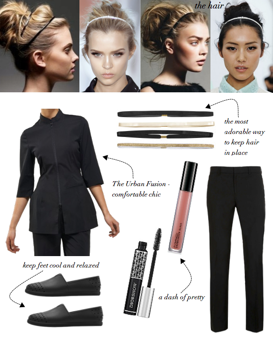 The urban fusion spa top by noel asmar beauty uniforms for Spa uniform price