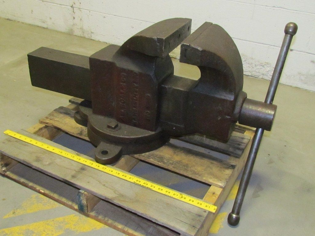 American Scale 9 400 Lbs Machinist S Vises In 2019 Bench Vise