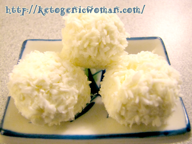 Coconut Cake Recipe Keto: Keto Lemon Coconut Balls - Low Carb Fat Bombs