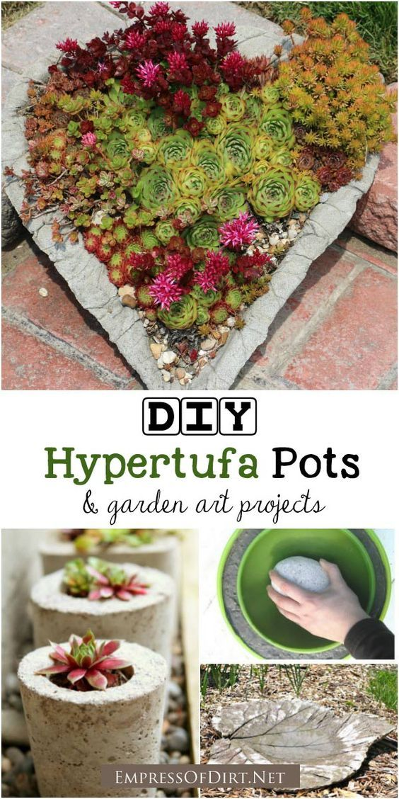 how to make your own plant pots