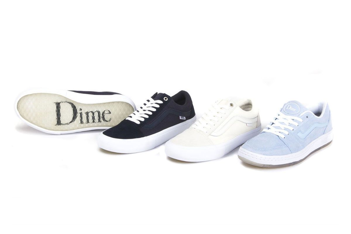 Vans and Dime MTL Upgrade the Old Skool Pro and Fairlane