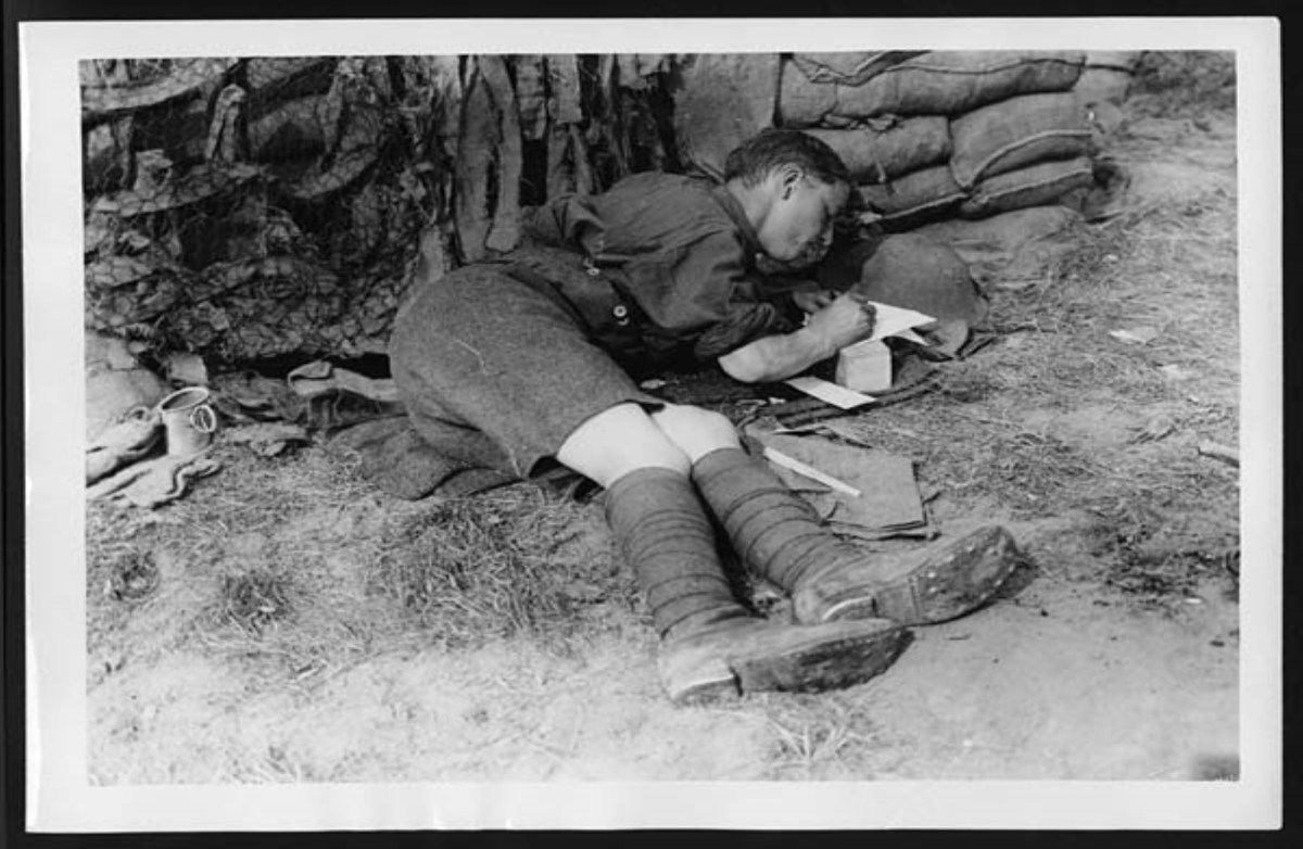 Thank You Veterans! a letter to a loved one 1917