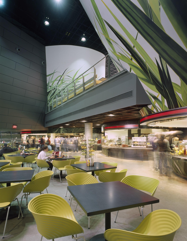 University Of Cincinnati Campus Recreation Center Architect Morphosis Kzf Design Photo Roland Halbe Food Court Design Morphosis Architects Building Design