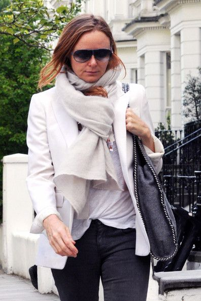 Stella McCartney - Claudia Schiffer Out and About in London